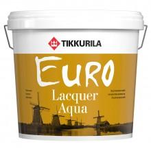 Лак Euro Lacquer Aqua мат 2,7л.