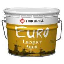 Лак Euro Lacquer Aqua мат 9,0л.