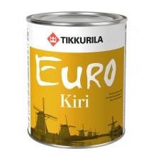 Лак алкид-уретановый  EURO KIRI гл. 0,9 л.