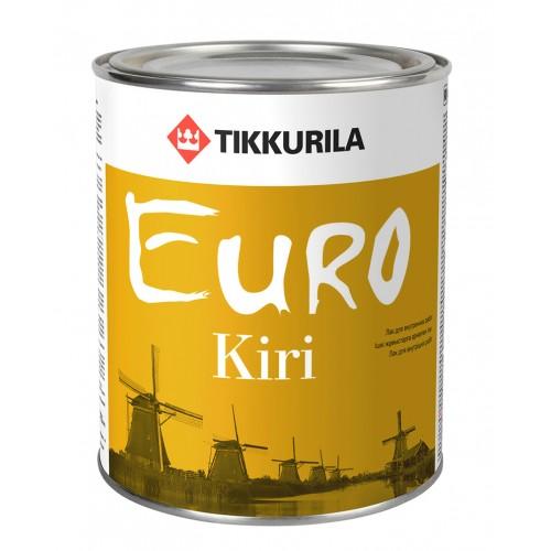 Лак алкид-уретановый  EURO KIRI п/м. 0,9 л.