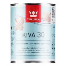 Лак для мебели Kiva 30 п/м 0,9 л.