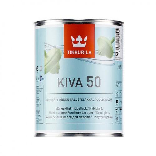 Лак для мебели Kiva 50 п/гл 0,9 л.