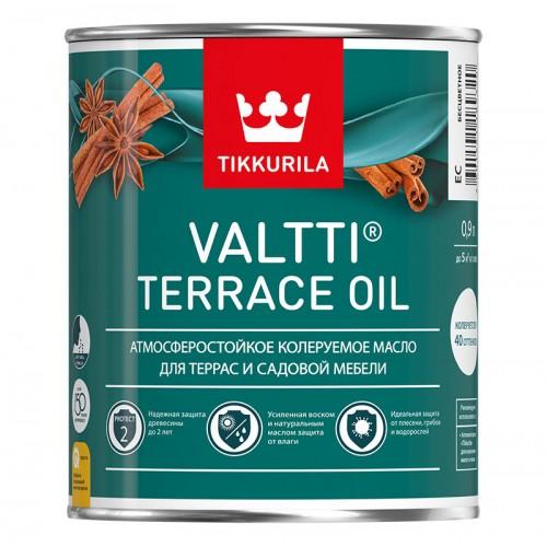 Масло Valtti Terrace Oil, для террас, основа EC, 0,9 л