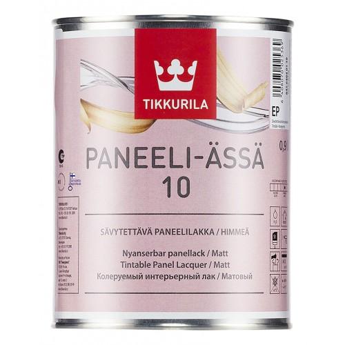 Лак акрилатный Paneeli Assa 10 мат. 0,9л.