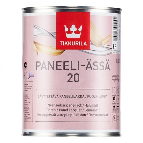 Лак акрилатный Paneeli Assa 20 мат. 0,9л.