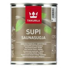 Лак Supi Saunasuoja для бани п/м 0,9л.