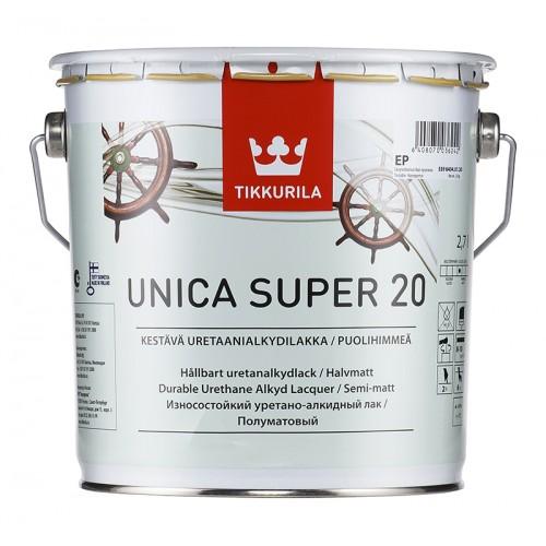 Лак уретано-алкидный Unica Super 20 п/м. 2,7л.
