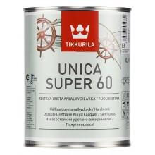 Лак уретано-алкидный Unica Super 60 п/гл. 0,9л.