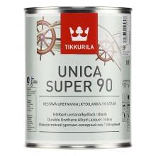Лак уретано-алкидный Unica Super 90 гл. 0,9л.