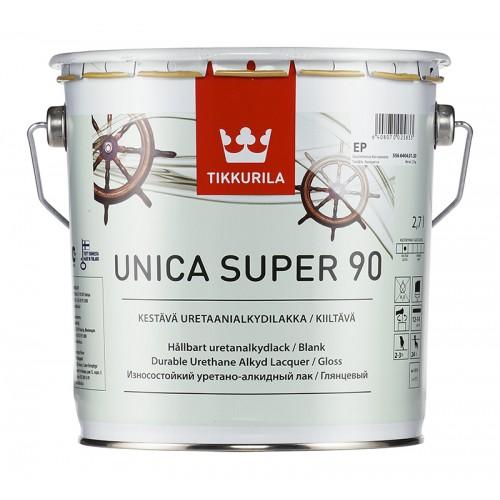 Лак уретано-алкидный Unica Super 90 гл. 2,7л.