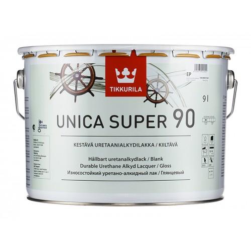 Лак уретано-алкидный Unica Super 90 гл. 9,0л.