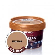 """Шпатлевка """"HUSKY SIBERIAN"""" по дереву, Махагон, 0.4кг"""
