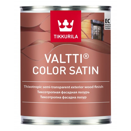 Состав Valtti Color Satin лессирующий антисептик 0,9л