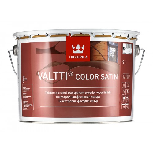 Состав Valtti Color Satin лессирующий антисептик 9,0л