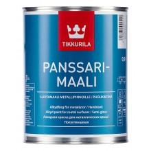 Эмаль Panssarimaali А 0,9л по металу для нар. работ