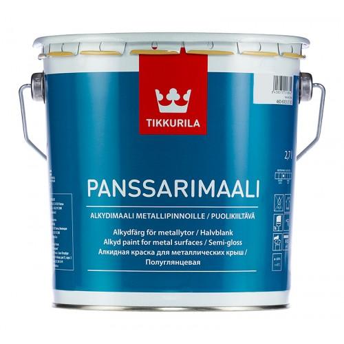 Эмаль Panssarimaali База С 2,7л по металу для нар. работ