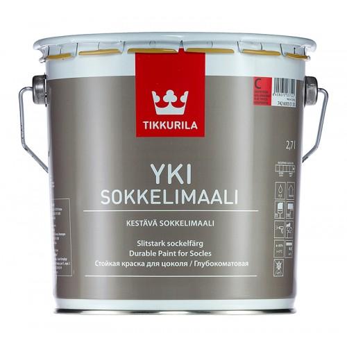 Краска Yki База С щелочестойкая для цоколей 2.7л