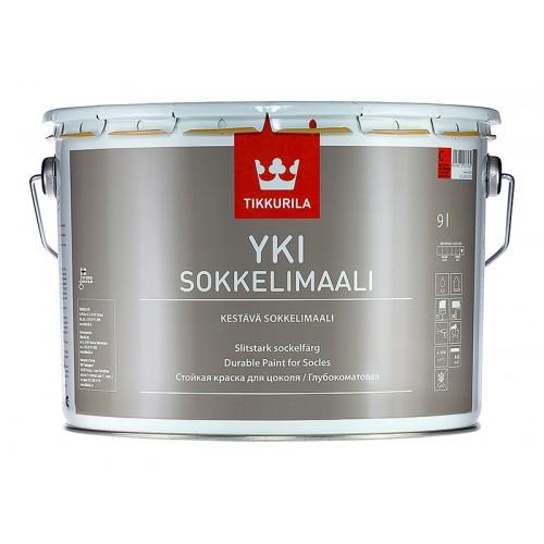Краска Yki А щелочестойкая для цоколей 9,0л