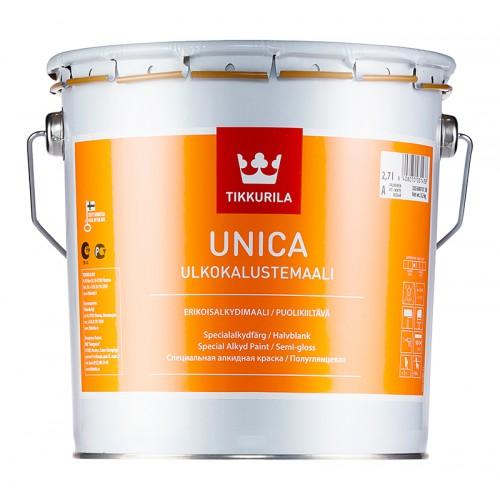 Эмаль Unica по пластмассовым поверхностям А п/гл 2,7л