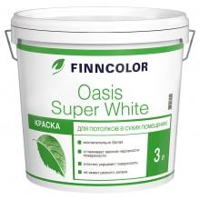 Краска Оasis Super White 3.0л для потолков
