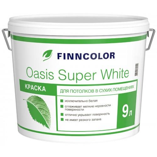 Краска Оasis Super White 9.0л для потолков