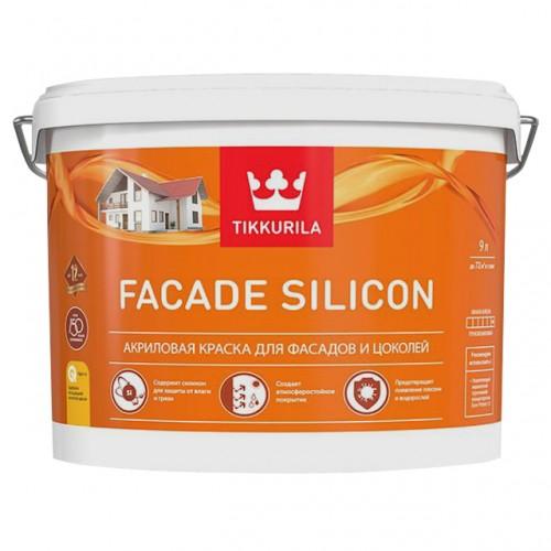Краска Facade Silicon А фасадная 9.0л