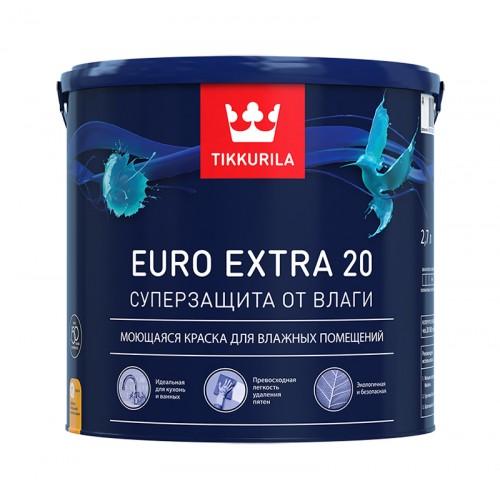 Краска Euro Extra 20 п/м База С 2.7 л
