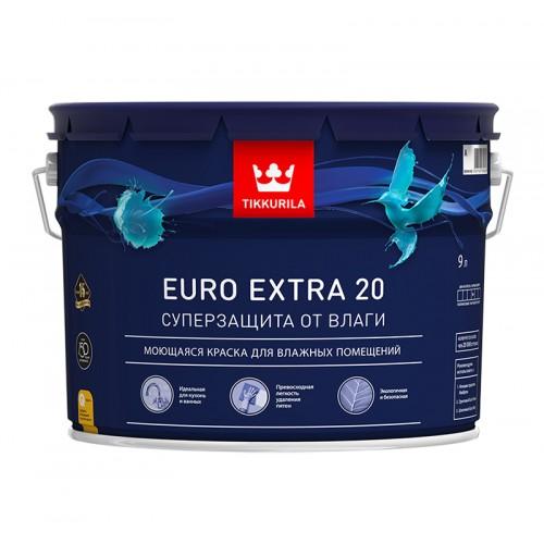 Краска Euro Extra 20 п/м База С 9.0 л