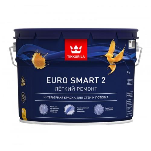 Краска Euro Smart 2 с/м 9.0 л