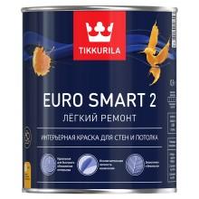 Краска Euro Smart 2 с/м 0,9 л