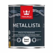 Краска Metallista по ржавчине, основа A, 0,9 л
