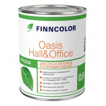 Краска Оasis Hall Office АР 0.9л