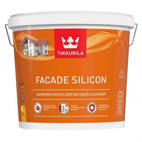 Краска Facade Silicon А фасадная 2.7л