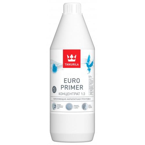 Грунтовка EURO PRIMER концентрат 0.9л