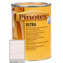 Антисептик Pinotex ULTRA с лаком белый   1л